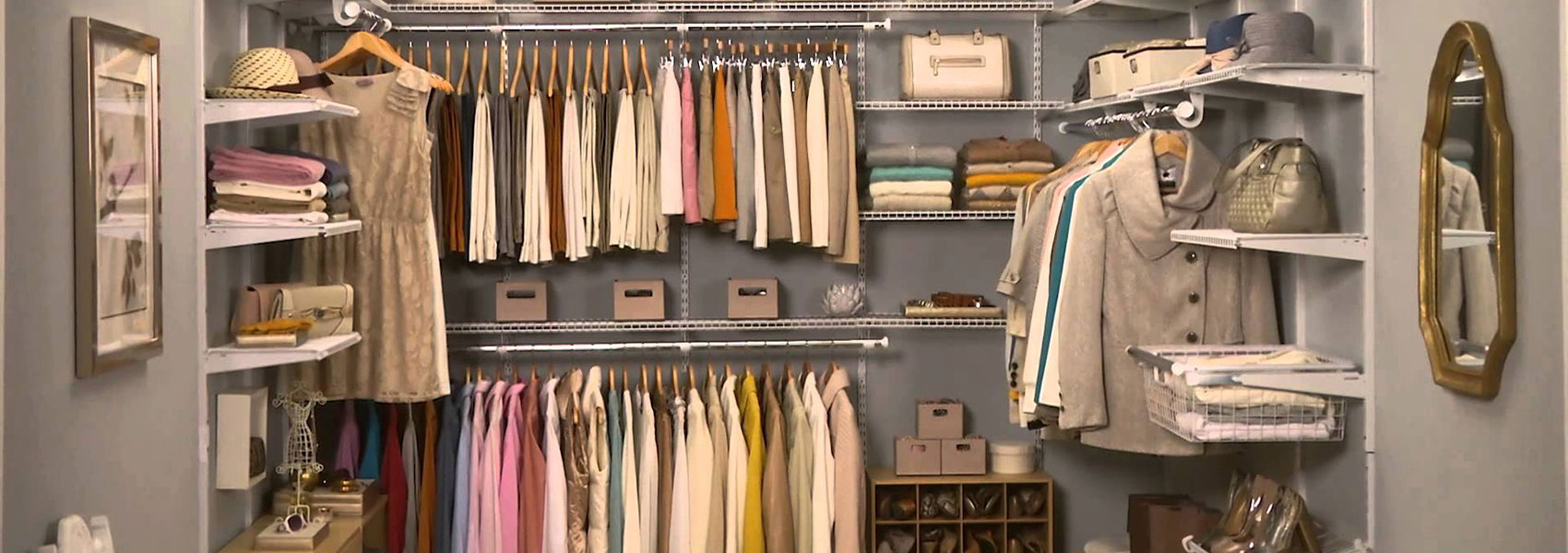 The Closet Factory has the best maintenance free organizational solutions for your home!
